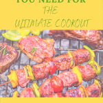 10 BBQ Essentials you need for the ultimate cookout
