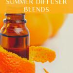 """top 10 """"feel good"""" summer diffuser blends"""